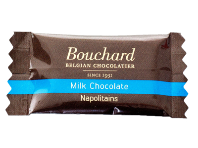 Chokolade Bouchard lys 5 gram 1 kg.