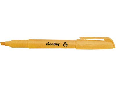 Tekstmarker Niceday penneform orange