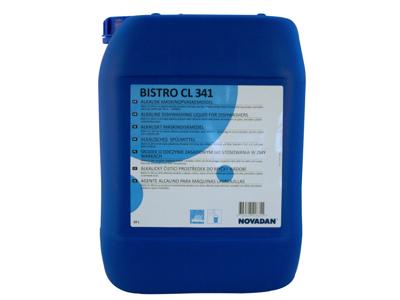 Maskinopvaskemiddel med klor CL 341 10 liter