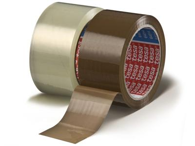 Tape pakke Tesa PP acryl 64014 48 mm x 66 meter klar