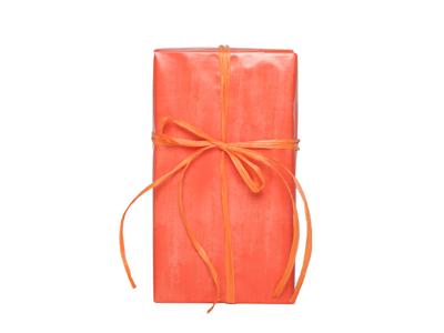 Gavepapir rust orange 57 cm x 154 meter