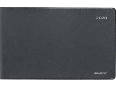 Mini bordkalender, vinyl, sort, FSC Mix 20132000