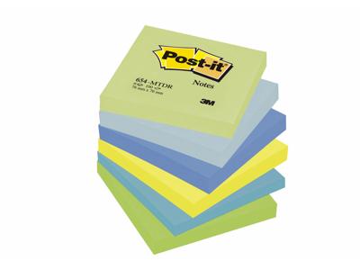 Post it 76x76mm Neon 6 STK