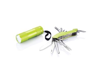 Quattro sæt til udendørs brug, grøn