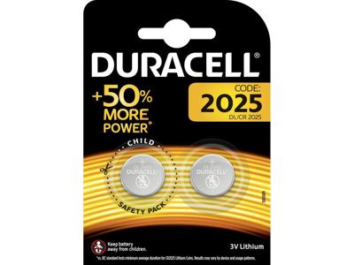 Batteri Duracell CR2025 2 stk