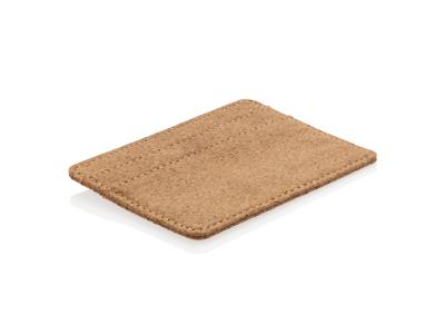 ECO Kork tynd RFID sikret pung, brun