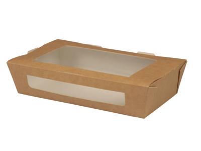 Take away bakke m/rude, 20x15,5x4,5cm, 200 stk.