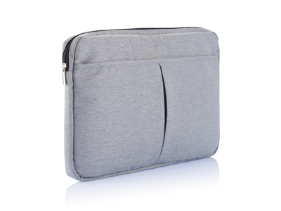 "Laptop etui 15"" PVC fri, grå"