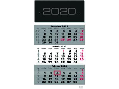 Vægkalender, Triplanner, FSC Mix 20066640