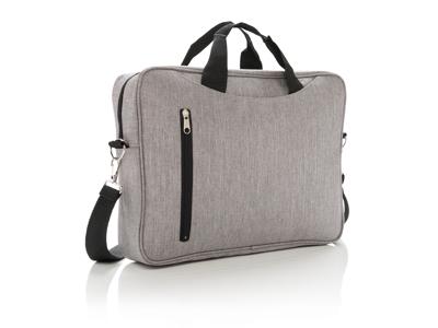 "Basic 15"" laptop taske, grå"