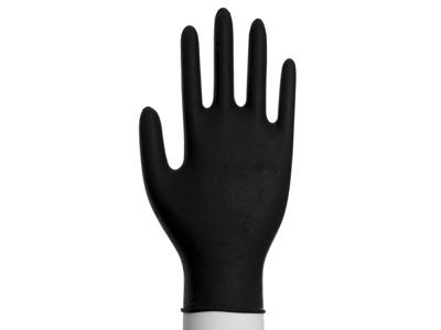Handsker nitril sort x-large 180 stk. pudderfri UDSOLGT
