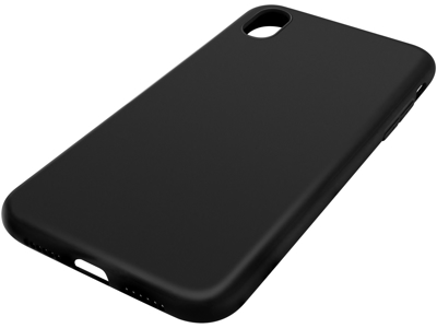 Cover til iPhone Xr Sandberg soft sort