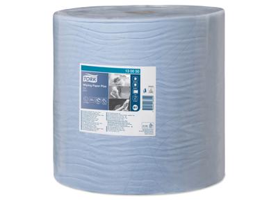 Aftørring Tork W1 130050 Plus 2-lags blå 1500 ark/rl.