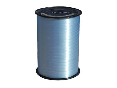 Gavebånd glat lys blå