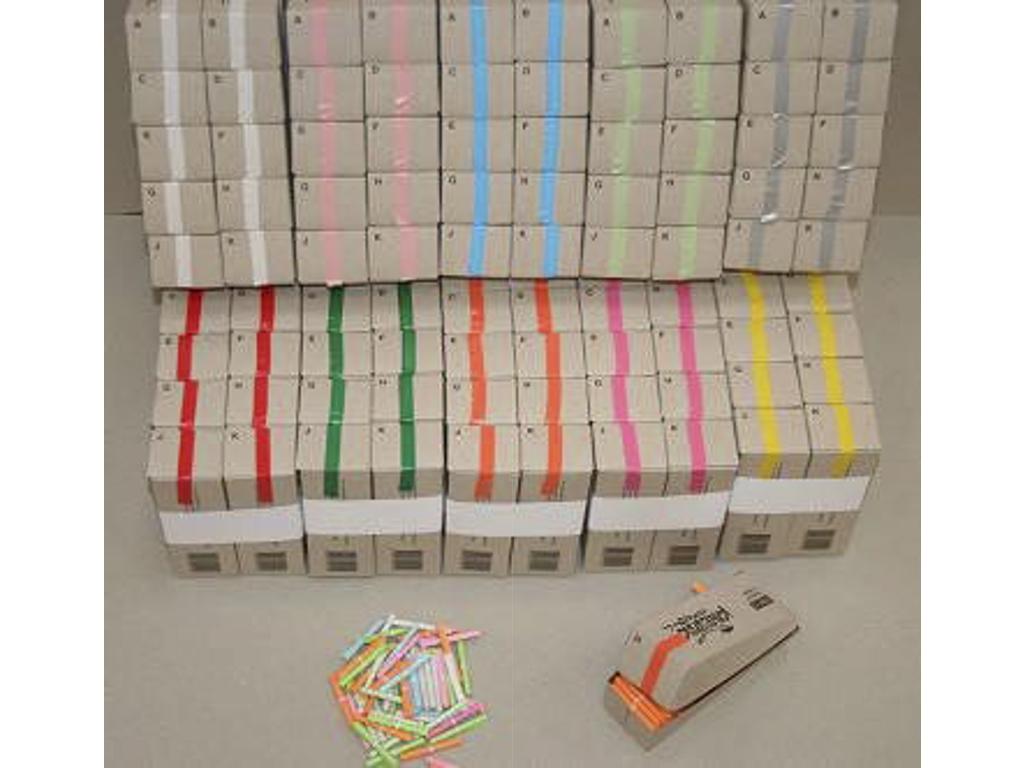 Kinesisk lotteri 1-200 rosa