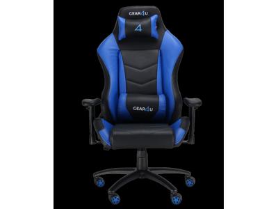GEAR4U Gamerstol Dominator Sort/Blå