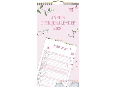 Annies Familiekalender, m/plastlomme, FSC Mix 20066000
