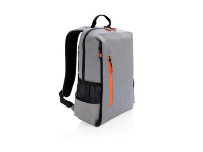 "Lima RFID 15"" laptop rygsæk, PVC fri, grå"