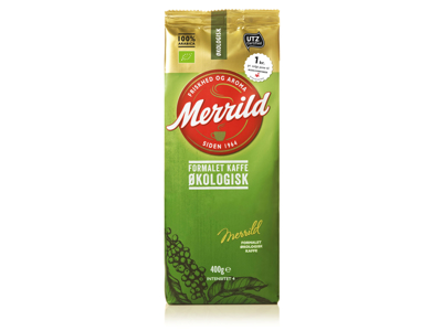 Kaffe Merrild økologisk 400 gram