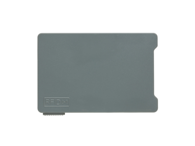 Multi kortholder med RFID anti skimming, grå