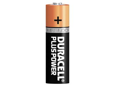 Batteri Duracell plus power AA 4 stk