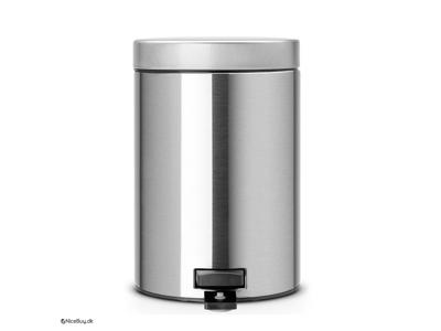 Pedalspand Brabantia 3 liter matt steel