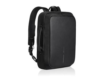Bobby Bizz tyverisikker rygsæk & dokument taske, sort