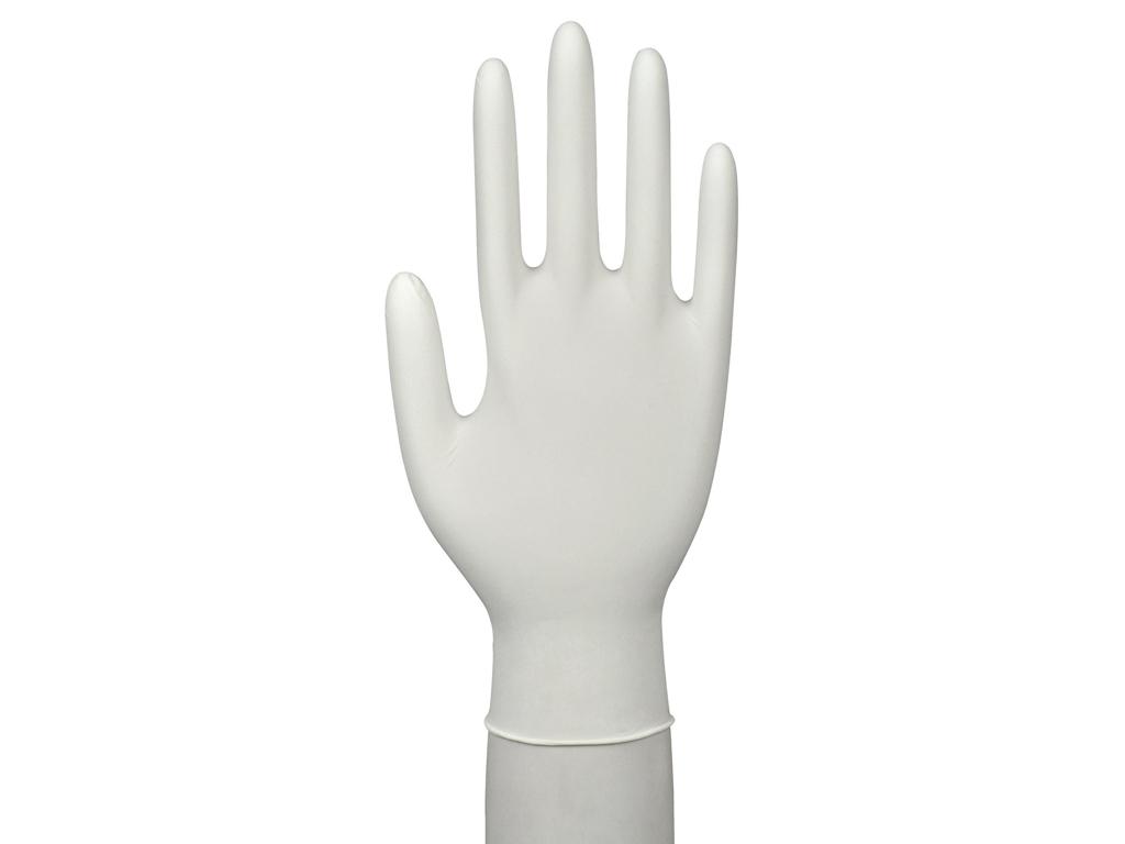 Handsker nitril hvid X-large 150 stk pudderfri