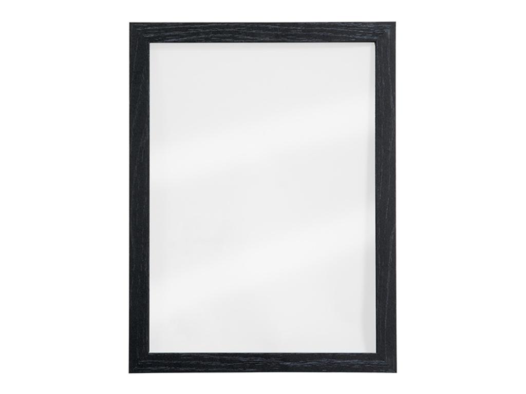 Tavle 40x30x1 cm gennemsigtig sort ramme