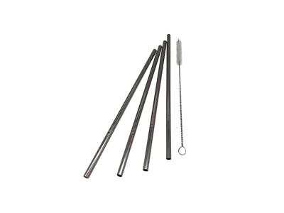 Sugerør lige RF 4-pak m/børste