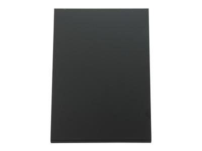 Bord tavle L-formet 21,5x15x8,5 cm sort