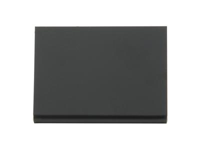 Bord tavle L-formet 7x7,5x3,5 cm sort