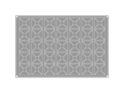 Pavoflex Pyramider 35 stk, str. 70x70x45