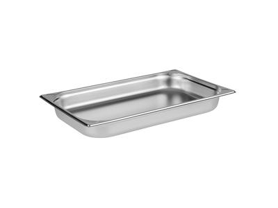 Kantin / Bleck, 1/1 GN, 6,5 cm, RF-stål