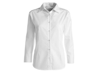 Kentaur Skjorte Dame Hvid m/lang ærm