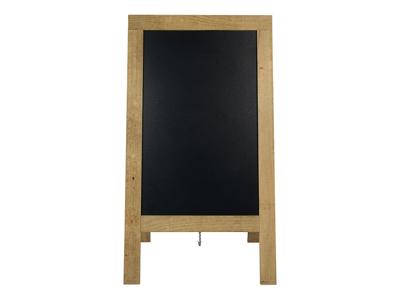 Tavle 130x72 cm lyst træ lakeret