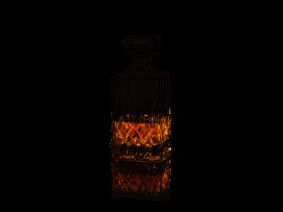 Harvey Karaffel 70 cl glas