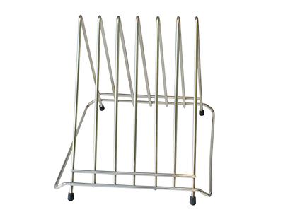 Skærebrætholder rustfri stål