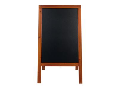 Tavle 70x125x7 cm mahogni lakeret