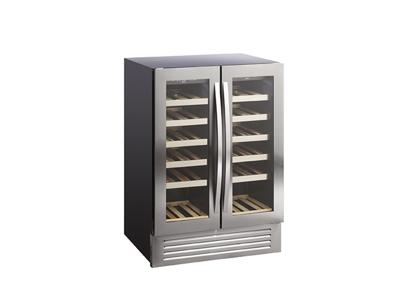 Vinkøleskab 2x60 ltr ScanDomestic