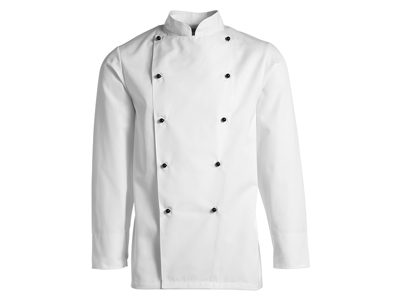 Kentaur Chef Jacket white with long sleeves