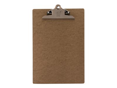 Menuholder A4, brun