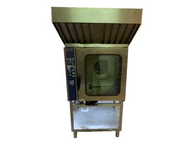 Brugt ovn 10 stiks konvektion m. emhætte