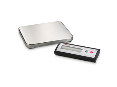 Vægt 2-delt med plade - Flere Størrelser