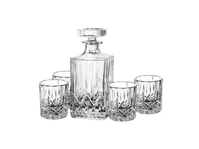 Harvey Karaffelsæt 5 dele glas