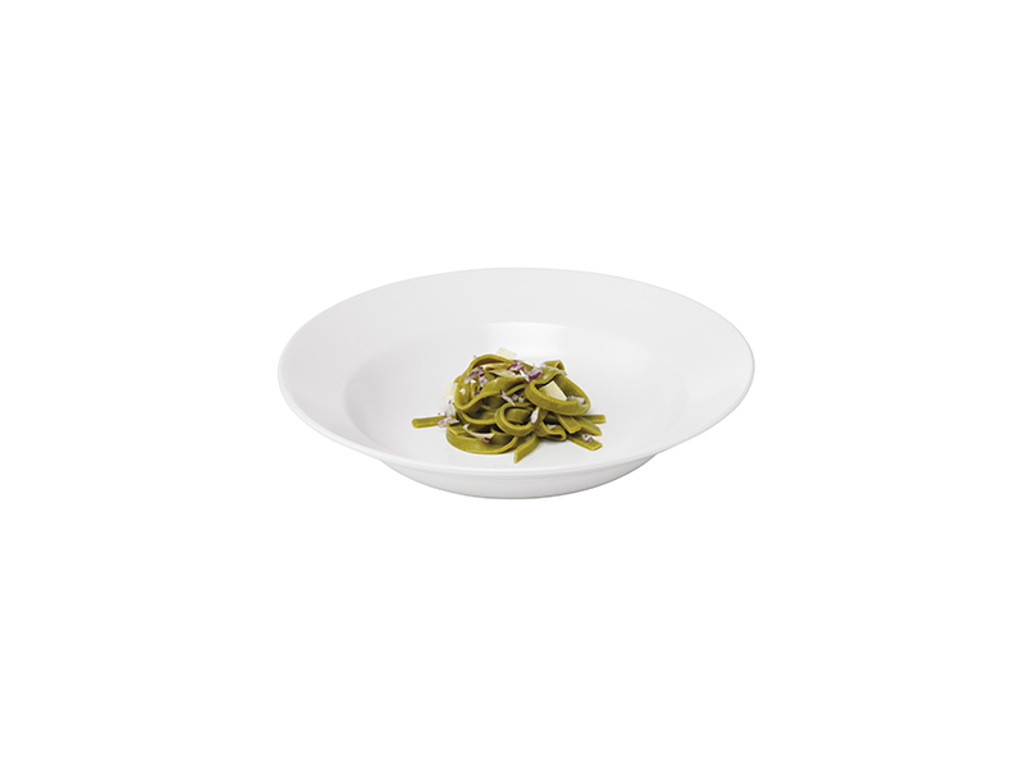 Quadro Pasta tallerken 30 cm Hvid stentø
