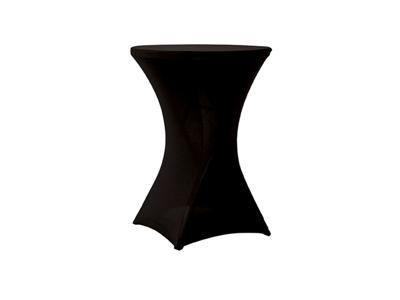 Formdug sort til Plastbord Ø80cm Zown NC
