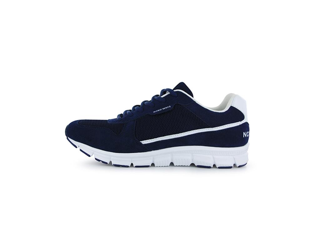 Kokkesko Sneaker str 45 Blå Vaskbar