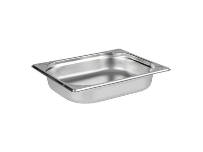Kantin / Bleck, 1/2 GN, 6,5 cm, RF-stål