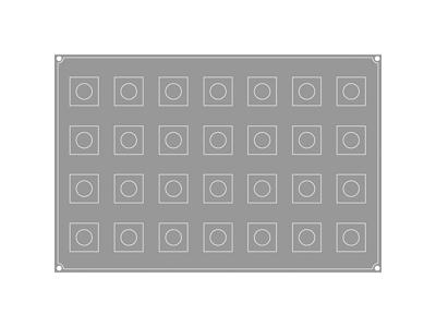 Pavoflex Kuber 28 stk, str. 50x50x47h mm